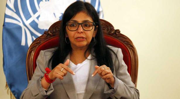 Delcy Rodríguez: En Venezuela no hay violencia electoral