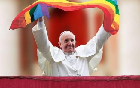 Resultado de imagen para papa acepta a los gays