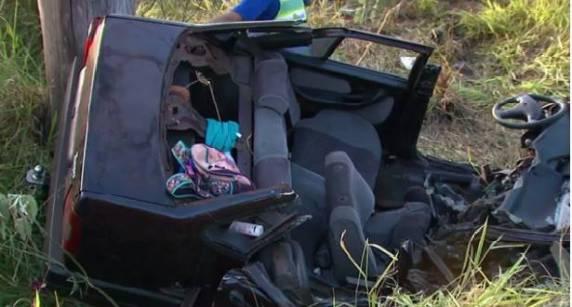 Veículo com placas de Itapema se envolve em acidente no Paraná