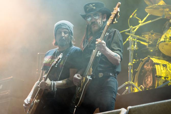 Phil Campbel e Lemmy Kilmister