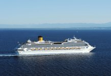 turismo balneario camboriu transatlantico costa favolosa porto 2017 2018