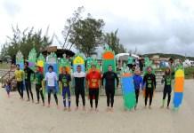 Festival de Surf com pranchas de garrafas pet ocorre neste fim de semana em Garopaba