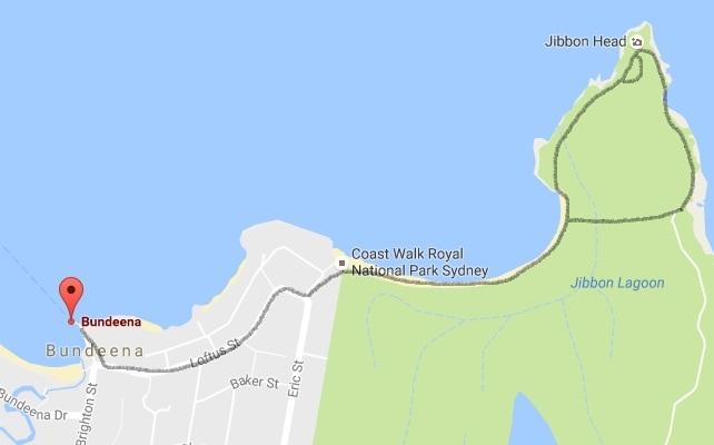 Jibbon Loop Track in Bundeena