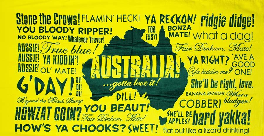 slang australiano