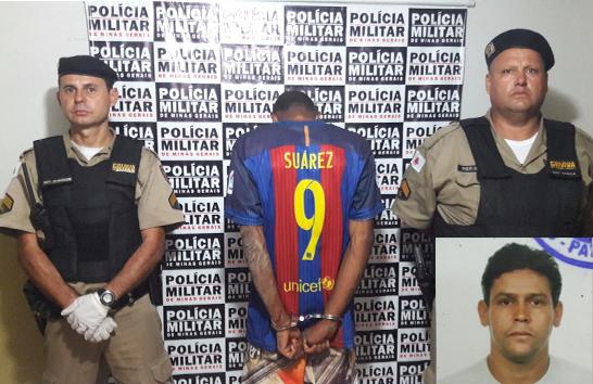PM prende autor de homicídio no bairro Pão de Açúcar