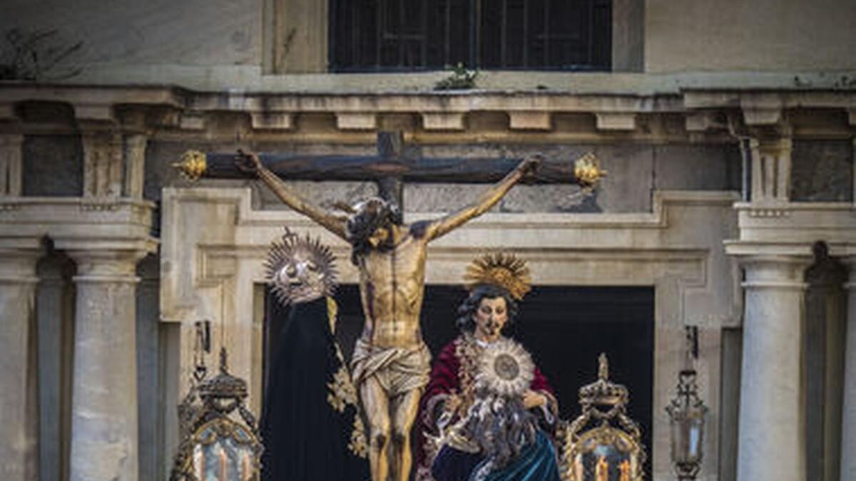 El Cristo de la Piedad, en su salida del año 2019