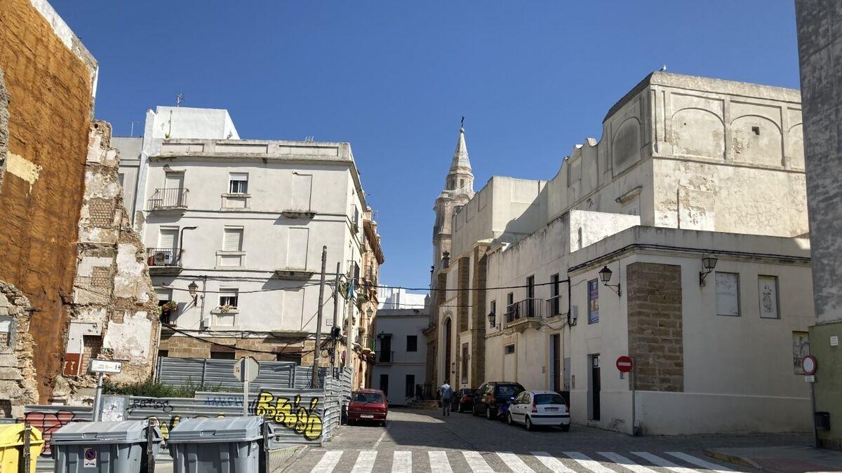 Imagen actual de las calles Santa María y Mirador.