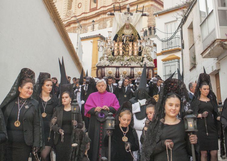 El Santo Entierro Magno de Olvera celebrado en 2016.