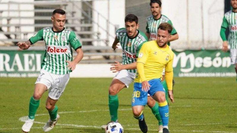 Las Palmas Atlético sorprende a un mal Sanluqueño (0-1)