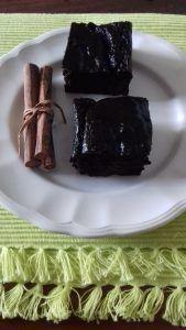 brownie de quinoa