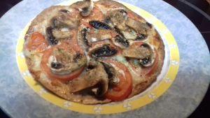 Pizzas con tortillas de fajitas o burritos