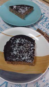 bizcocho de coco en 10 minutos