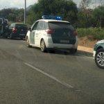 La Guardia Civil incrementará la vigilancia en Los Belones. En la imagen, unidades ayendiendo un accidente (foto de archivo).
