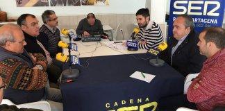Un programa radiofónico de la SER reunió a los principales representantes vecinales del Arco Sur del Mar Menor.
