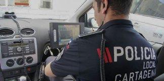 La Policía Local colocará un radar en la calle Mar Menor de Los Belones esta semana.