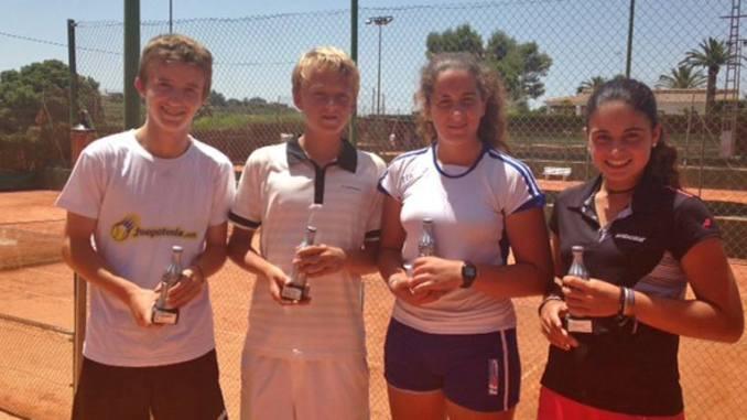 nicola kuhn campeon infantil de la comunidad valenciana