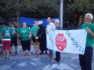 Acción conjunta de las PAH de Orihuela y Puertollano para conseguir una condonación de la deuda