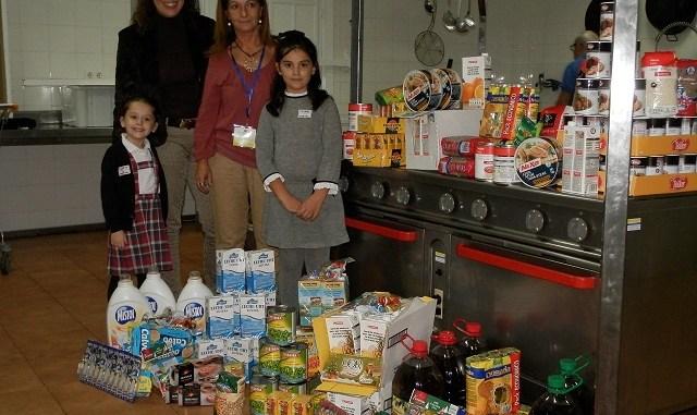 Lucia y Alimentos Solidarios