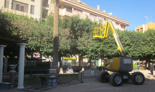 Plaza Nueva obras