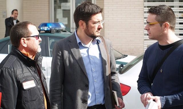 Ignacio Blanco y Víctor Ferrández