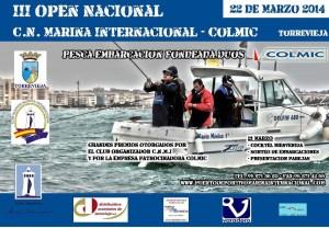Torrevieja acoge este fin de semana el III Open Nacional de Embarcación Fondeada-Dúos