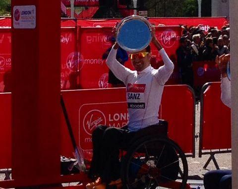 santiago sanz maratón londres