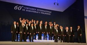 El coro de Voces Graves de Madrid gran triunfador de las Habaneras 2014