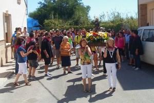 Heredades abre hoy sus fiestas en honor a San Roque y la Virgen del Rosario