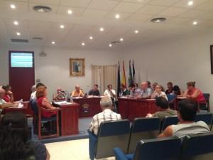 El Pleno rojalero aprueba por unanimidad las cuentas del año 2013 con un remanente de 1.543.100 euros