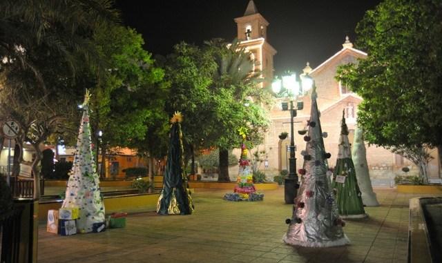Concurso aŕboles de navidad 2012