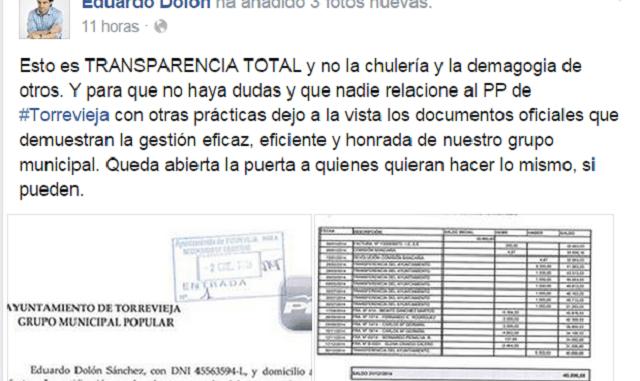 Facebook Dolón