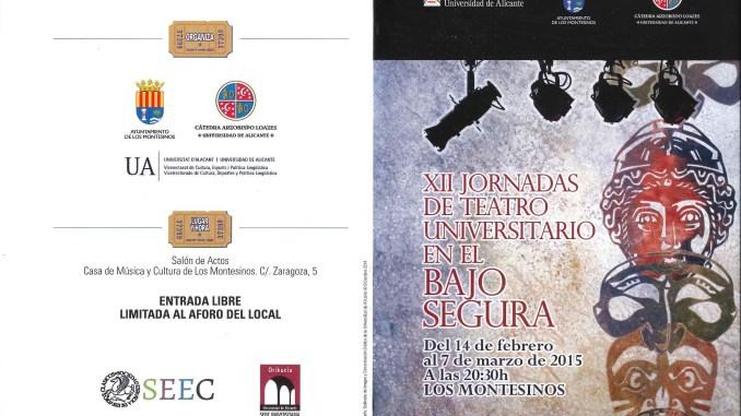 Jornadas Teatro Los Montesinos 13feb15