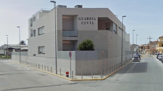 cuartel guardia civil Almoradí