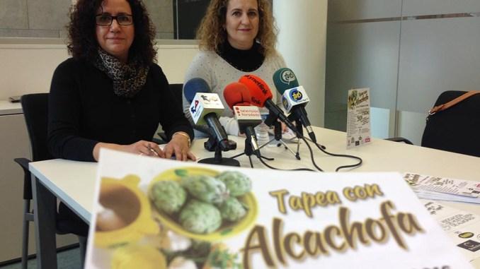 tapea con alcachofa almoradí