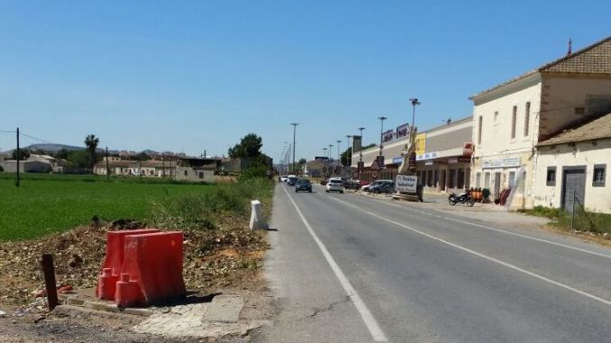 Carretera Almoradí-Dolores