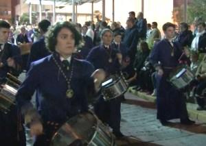Pilar acoge su primer Certamen de Banda de Cornetas y Tambores