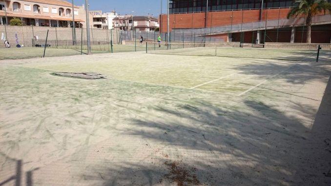 pistas tenis catral