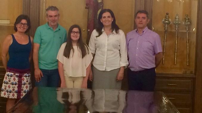 Ganadora concurso piano Rumanía