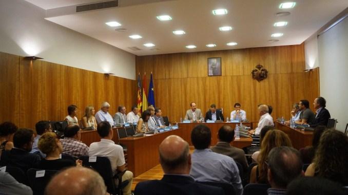Junta de Gobierno Diputación Ayuntamiento