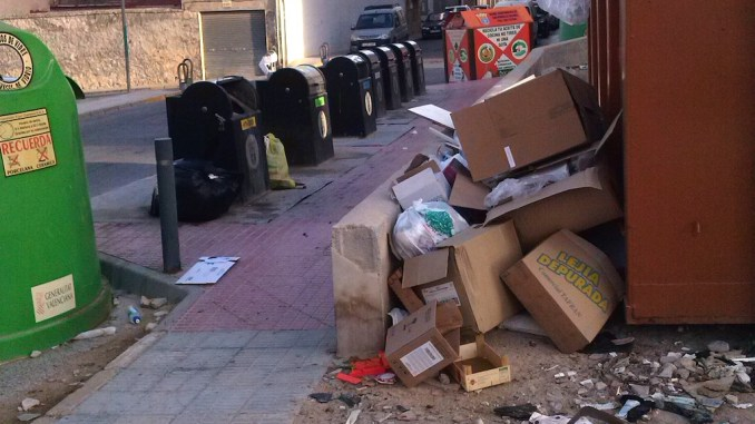 basura acumulada agosto 2016