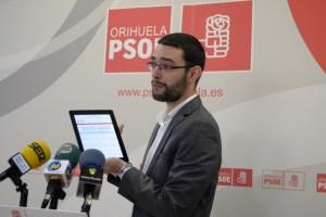 El grupo socialista de Orihuela estrena página web