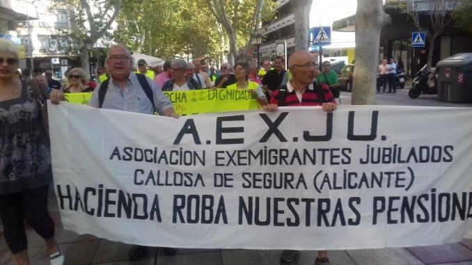 AEXJU manifestacion murcia