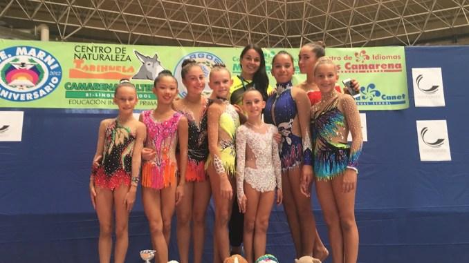 gimnasia ritmica escuela jennifer colino Nacional