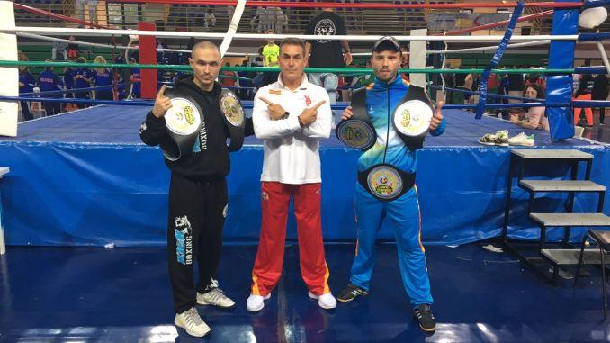 kick boxing campeones