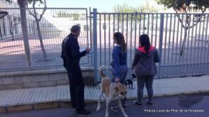 La Policía Local intensifica el control de los excrementos de perros en la vía pública