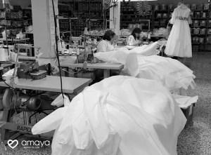 La firma de moda infantil Amaya Fashion for Kids pone su infraestructura al servicio del sistema sanitario