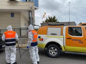 Comienzan los trabajos de limpieza y desinfección en el casco, costa y pedanías de Orihuela