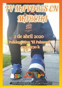 'Mayores en Marcha' se celebra el 2 de abril en El Palmeral de Orihuela