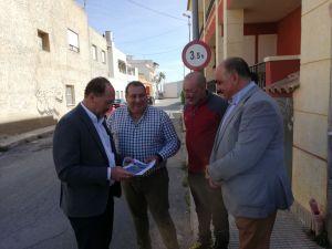 El Ayuntamiento anuncia obras de reurbanización  en el barrio oriolano de Casas Nuevas