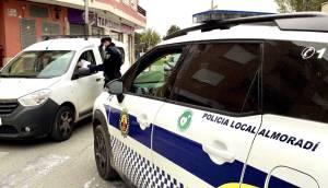 La Policía Local de Almoradí racionaliza sus recursos para mayor control